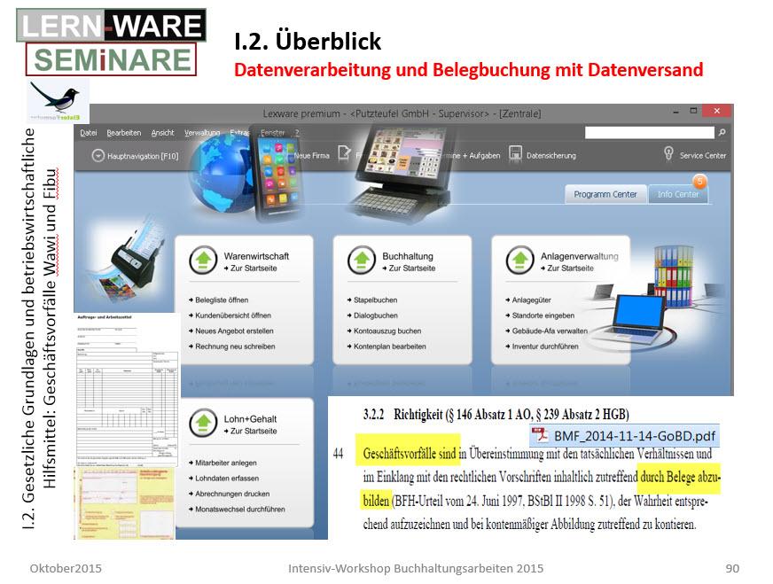 Lexware Datenverarbeitung für Belegerfassung