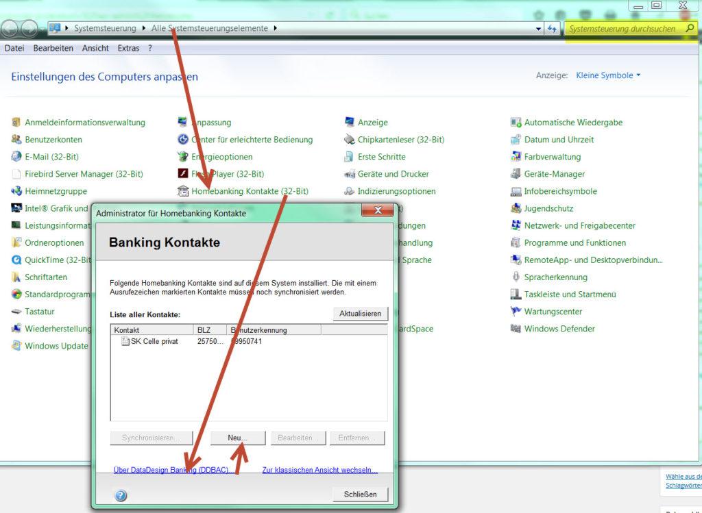 Lexware Online Banking: DDBAC » LERN-lex-WARE Support online