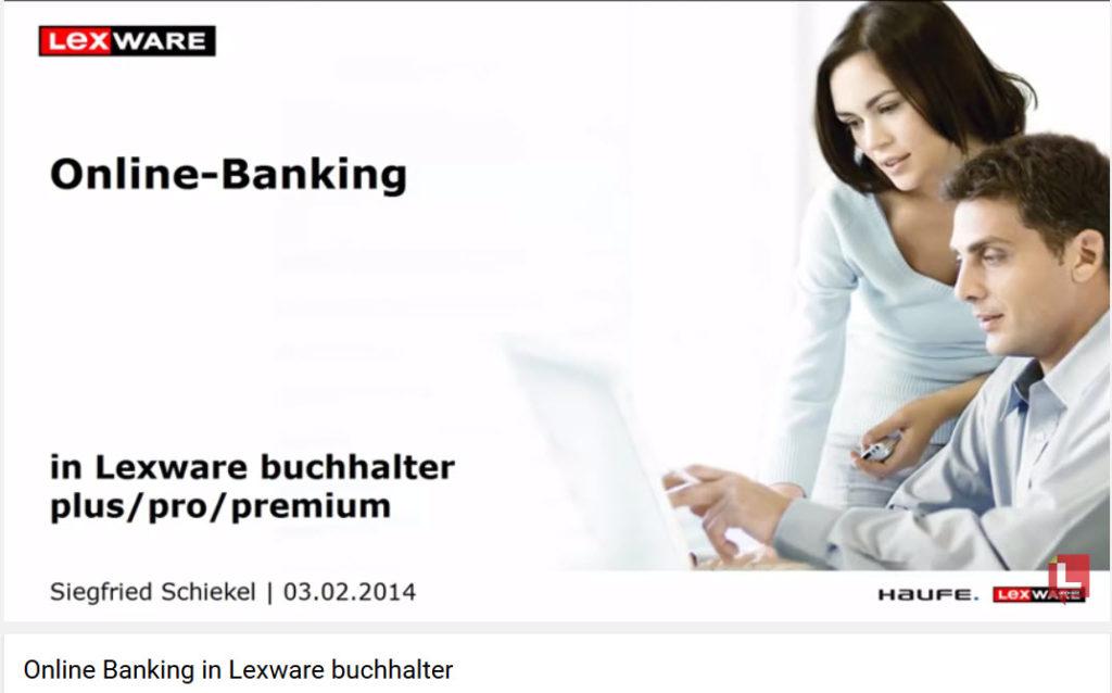 Lexware® Online Banking einrichten ab 2014